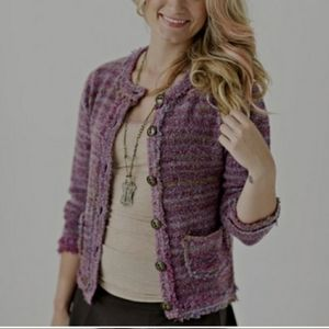 Matilda Jane color by numbers cardigan sweater